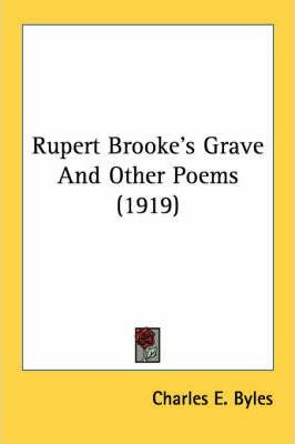 Rupert Brooke's Grave and Other Poems (1919)