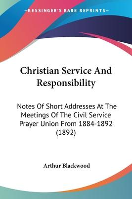 Christian Service and Responsibility