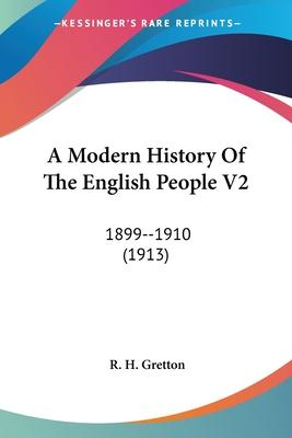 A Modern History of the English People V2