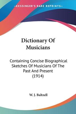 Dictionary of Musicians