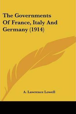 The Governments of France, Italy and Germany (1914)