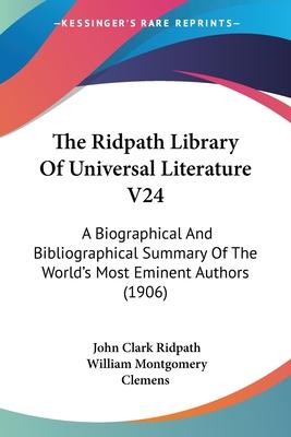 The Ridpath Library of Universal Literature V24