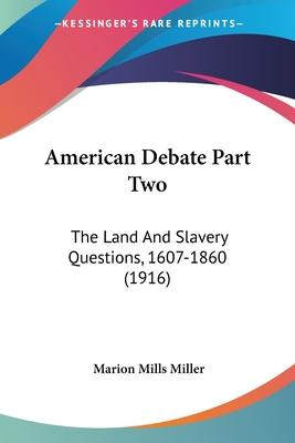 American Debate Part Two