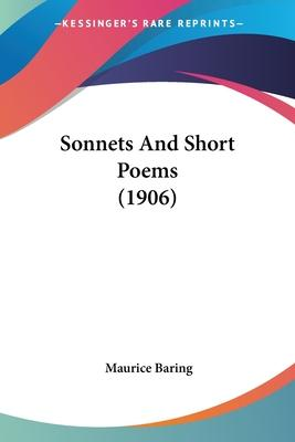 Sonnets and Short Poems (1906)