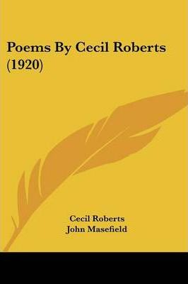 Poems by Cecil Roberts (1920)