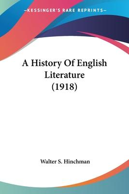 A History of English Literature (1918)