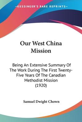 Our West China Mission