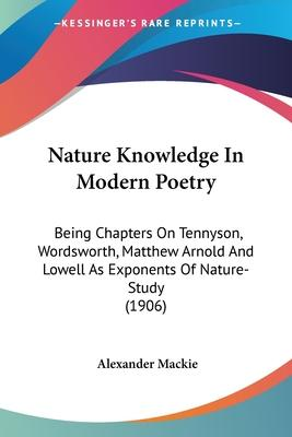 Nature Knowledge in Modern Poetry