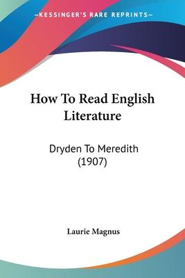 How to Read English Literature