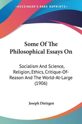 Some of the Philosophical Essays on