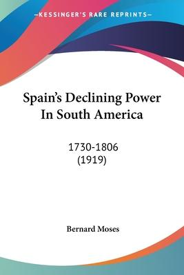 Spain's Declining Power in South America