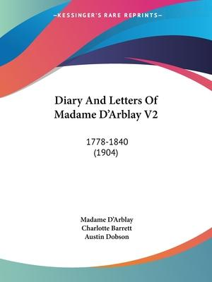Diary and Letters of Madame D'Arblay V2