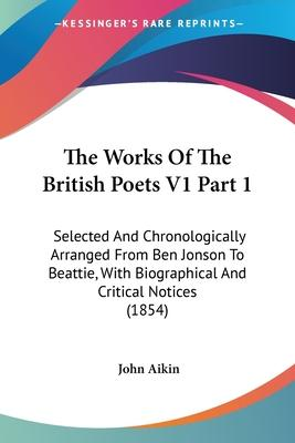 The Works of the British Poets V1 Part 1