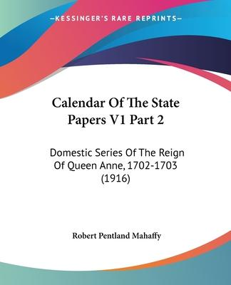 Calendar of the State Papers V1 Part 2