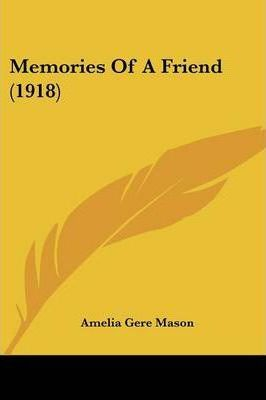 Memories of a Friend (1918)