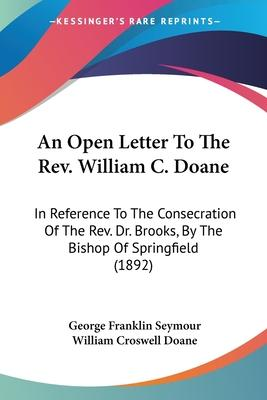 An Open Letter to the REV. William C. Doane