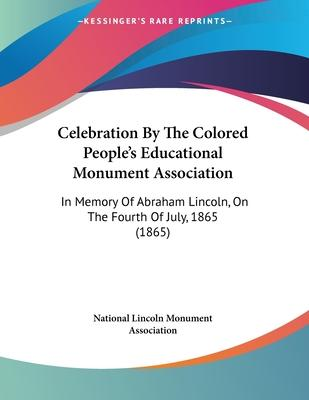 Celebration by the Colored People's Educational Monument Association