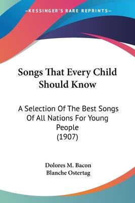 Songs That Every Child Should Know