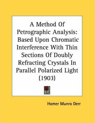 A Method of Petrographic Analysis