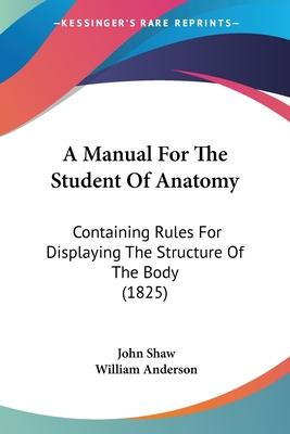 A Manual for the Student of Anatomy