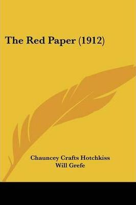 The Red Paper (1912)