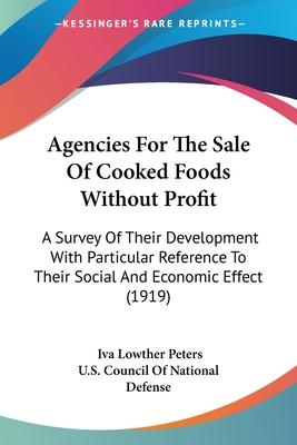 Agencies for the Sale of Cooked Foods Without Profit
