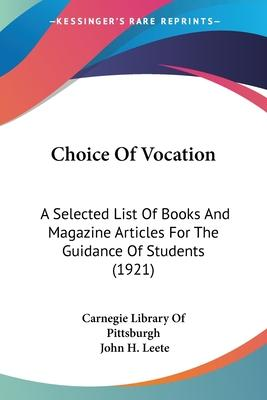 Choice of Vocation