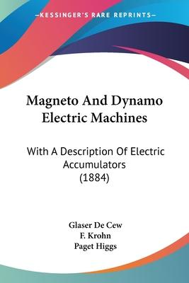 Magneto and Dynamo Electric Machines