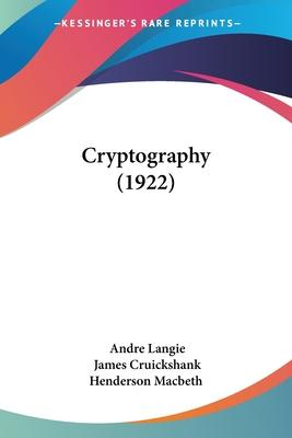 Cryptography (1922)