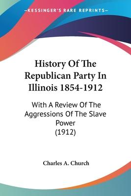 History of the Republican Party in Illinois 1854-1912