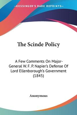 The Scinde Policy
