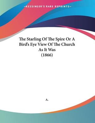 The Starling of the Spire or a Bird's Eye View of the Church as It Was (1866)