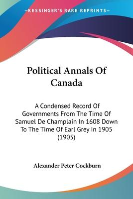 Political Annals of Canada