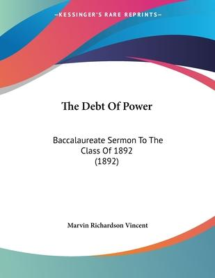 The Debt of Power