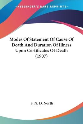 Modes of Statement of Cause of Death and Duration of Illness Upon Certificates of Death (1907)