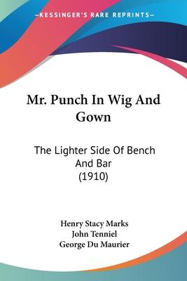 Mr. Punch in Wig and Gown