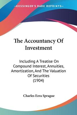 The Accountancy of Investment