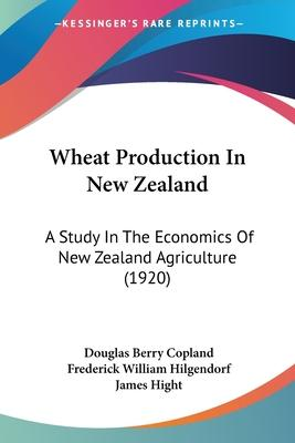 Wheat Production in New Zealand