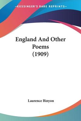 England and Other Poems (1909)