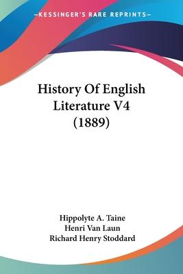 History of English Literature V4 (1889)