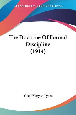 The Doctrine of Formal Discipline (1914)
