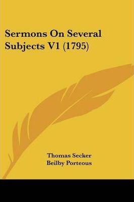 Sermons on Several Subjects V1 (1795)