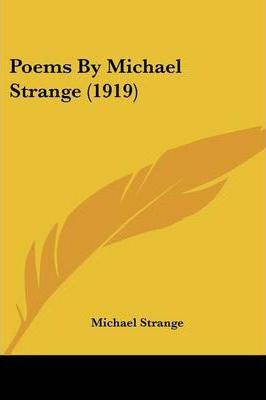 Poems by Michael Strange (1919)