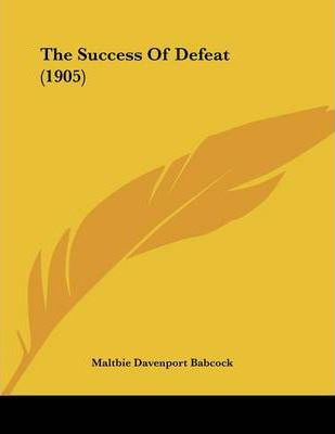 The Success of Defeat (1905)