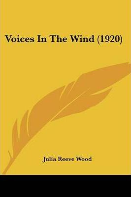 Voices in the Wind (1920)