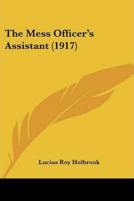 The Mess Officer's Assistant (1917)