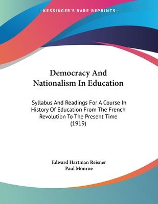 Democracy and Nationalism in Education