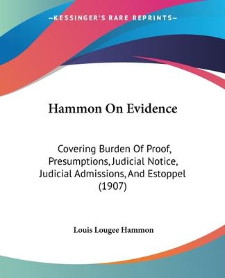 Hammon on Evidence