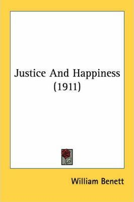 Justice and Happiness (1911)
