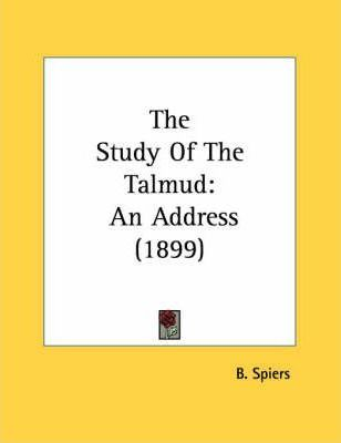 The Study of the Talmud
